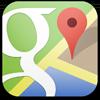 Maanrover op Google Maps